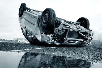 Lafayette Car Rollover Lawyers help when your SUV has flipped due to a defective blown tire.