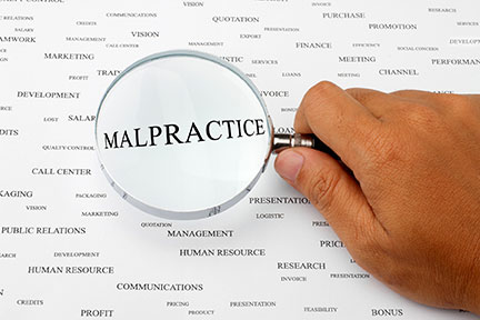 Lafayette Professional Malpractice Lawyers sue doctors, attorneys, bankers, and real estate agents.