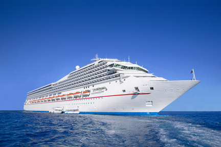 If you are injured on a cruise ship like this one, contact a Lafayette Cruise Accident Lawyer.